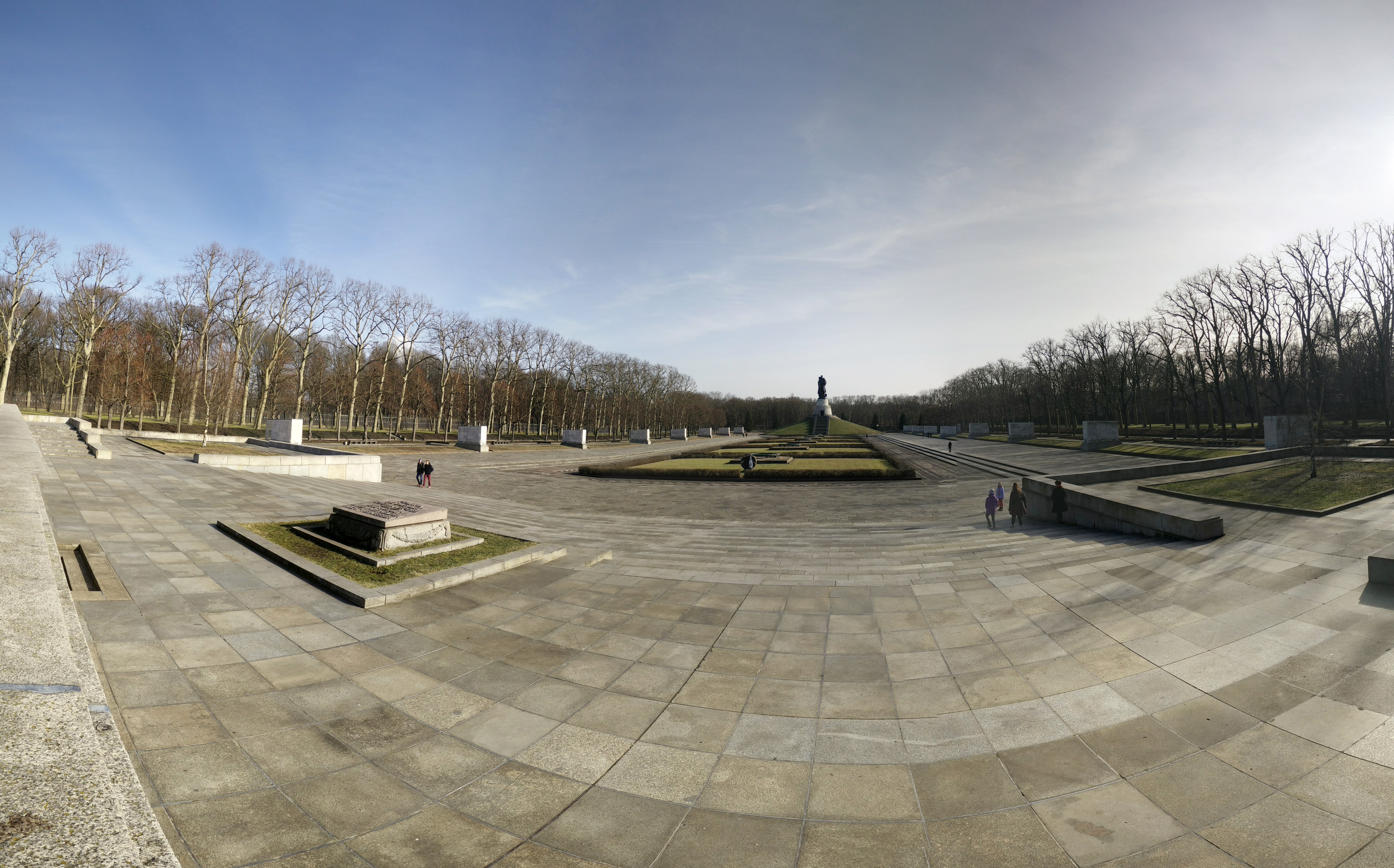 pano of soviet monument