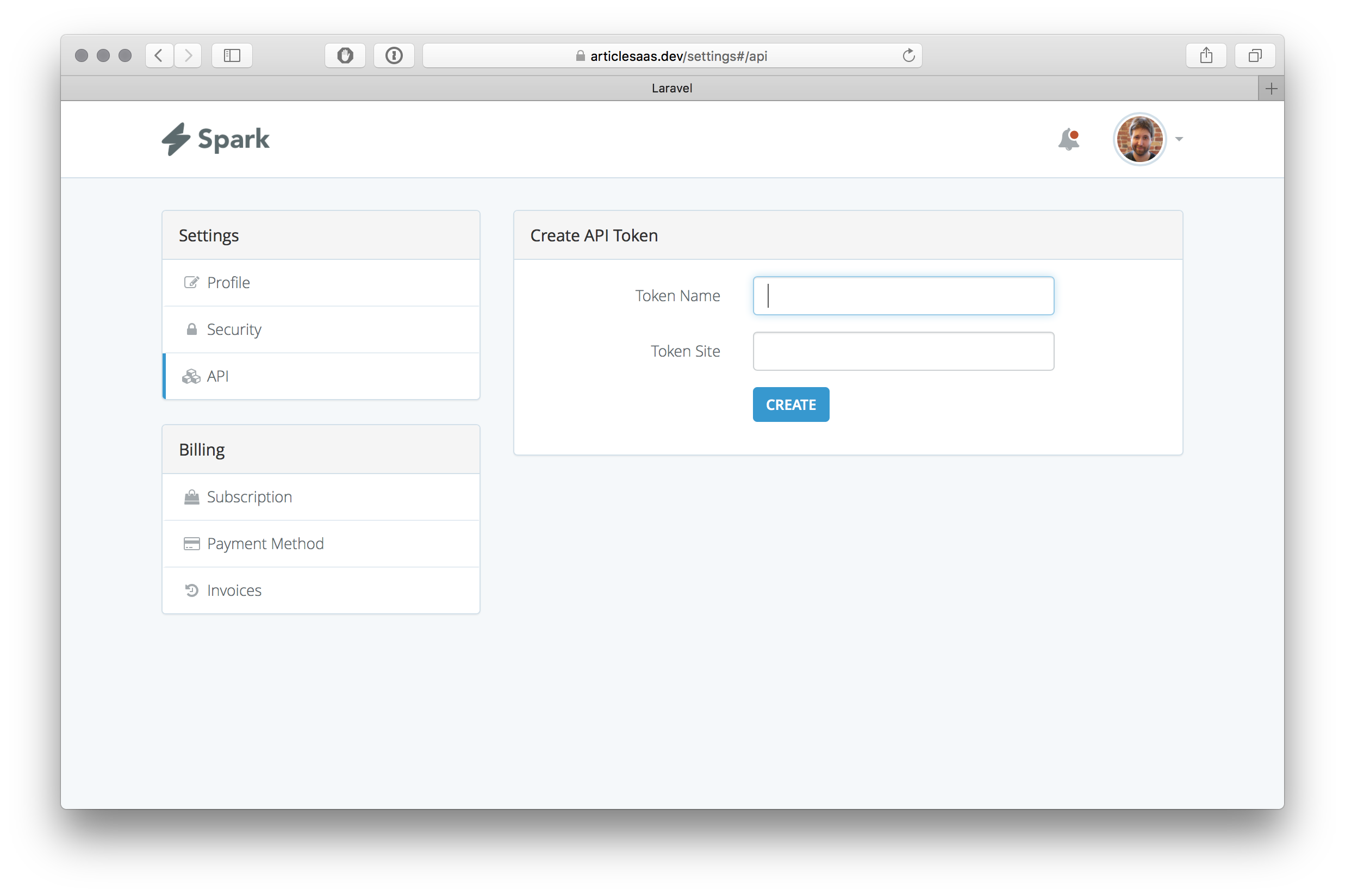 I Modified The Token Authentication in Laravel / Spark!